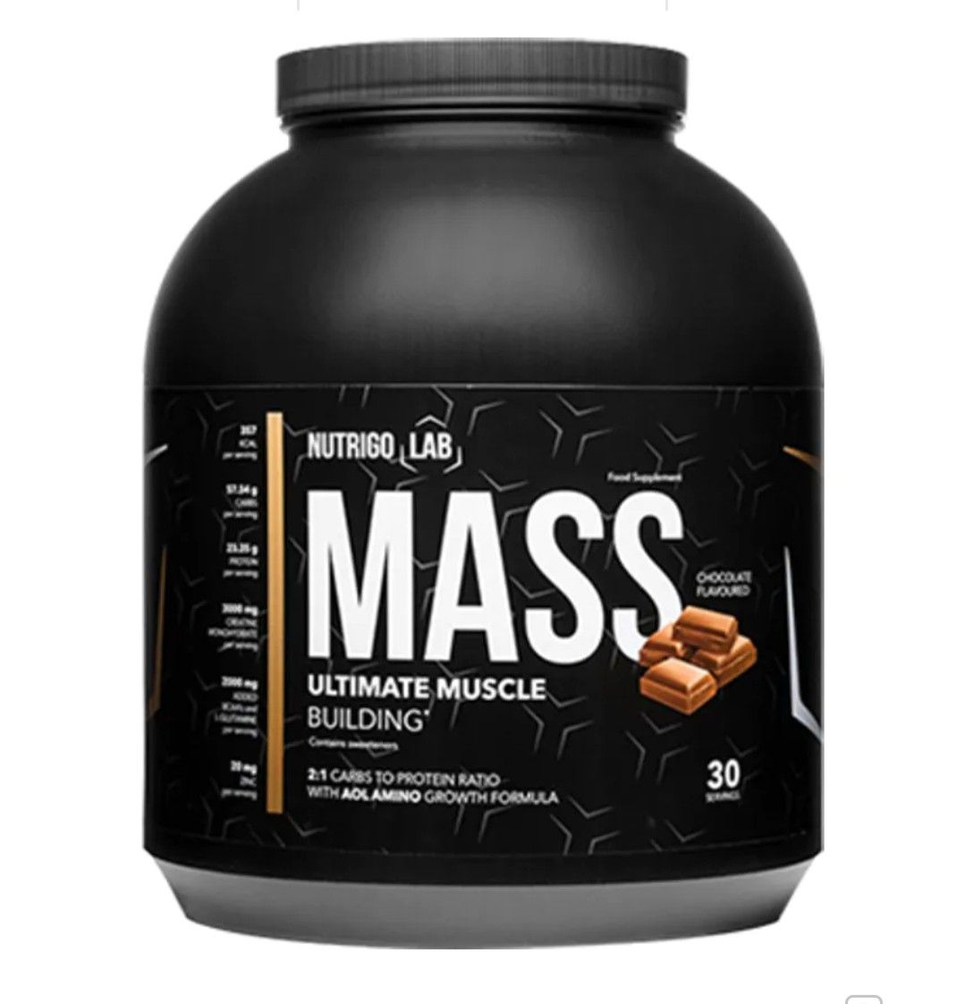 Nutrigo Lab Mass:Ultimate Supplement For Muscle Building