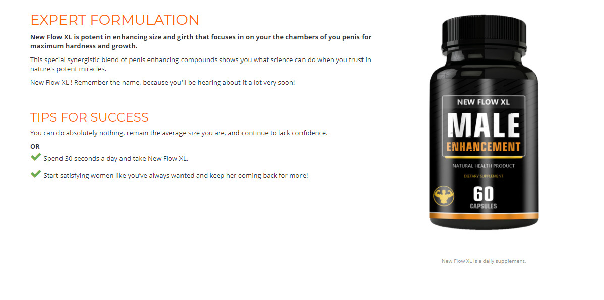 New Flow XL | Male Enhancement Supplement Review In USA 2021